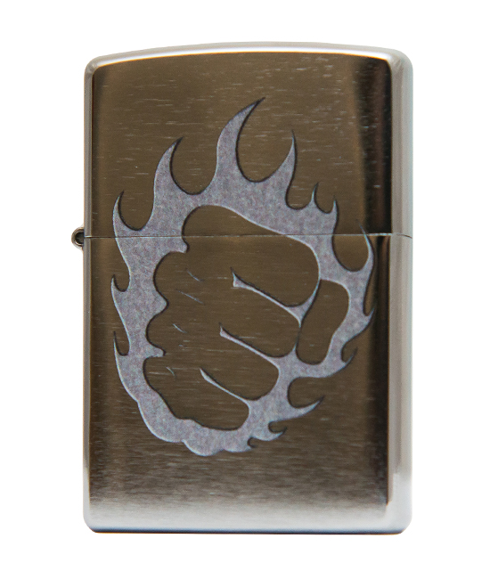 Зажигалка Zippo- Tattoo Fire and Fist фото