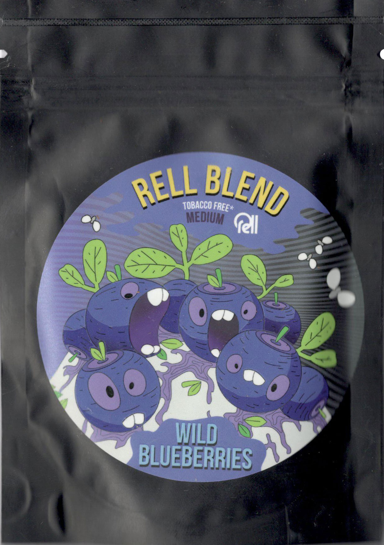 Табак Rell Blend- Дикая Черника (Wild Blueberries) фото