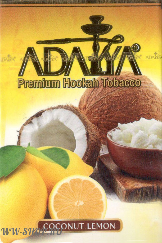 табак adalya- кокос с лимоном (coconut lemon) Челябинск
