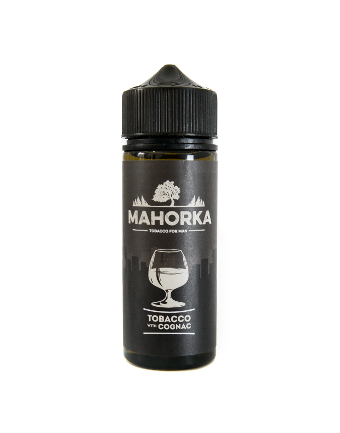 Жидкость Mahorka- Tobacco With Cognac 120мл 3мг фото