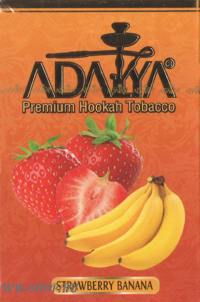 табак adalya- клубника и банан (strawberry banana) Челябинск