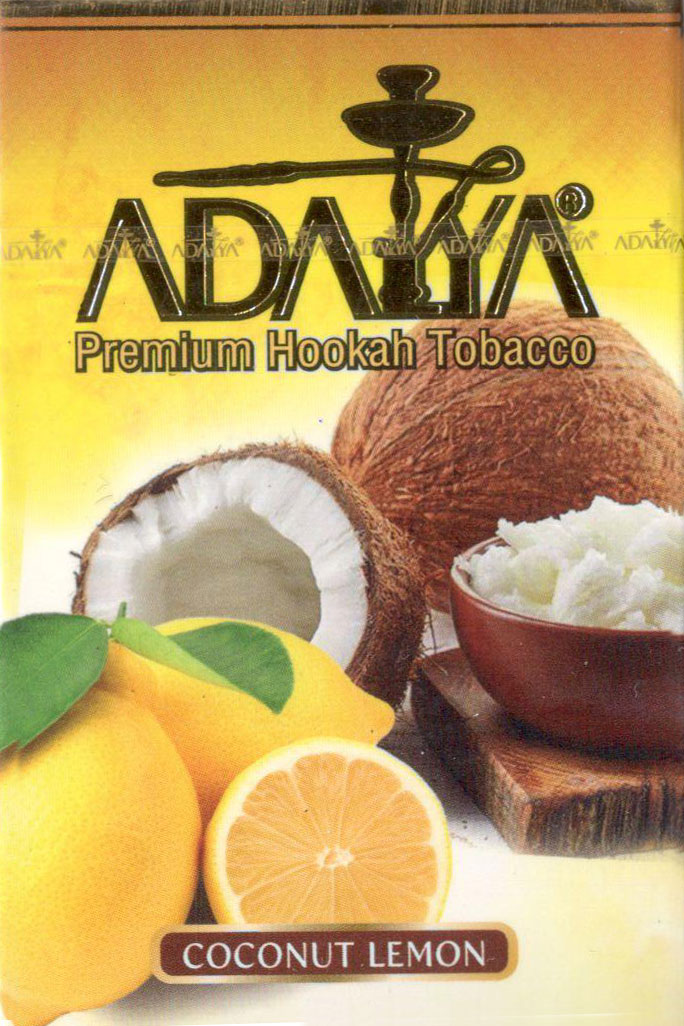 Табак Adalya- Кокос с Лимоном (Coconut Lemon) фото